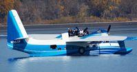 N98TP - On Mississippi River @ Lake City - by Bob Diepenbrock
