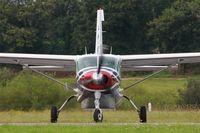 F-HFTR @ LFRB - Cessna 208B Grand Caravan, Lining up rwy 25L, Brest-Bretagne airport (LFRB-BES) - by Yves-Q
