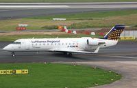 D-ACRN @ EDDL - Lufthansa Regional CL200 - by FerryPNL