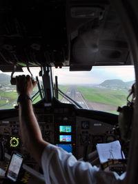 PJ-WIJ @ TKPK - Arriving at SKB after a short flight from SXM