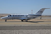 C-FNCB @ KBOI - Taxiing on Alpha to the Customs ramp. - by Gerald Howard