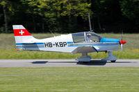 HB-KBP @ LSPL - glider towing