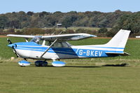 G-BKEV @ X3CX - Parked at Northrepps. - by Graham Reeve