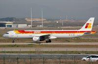 EC-JRE @ LEMD - Iberia A321 - by FerryPNL