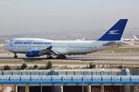 LV-AXF @ LEMD - Aerolineas Argentinas B744 taxying for departure - by FerryPNL
