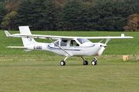 G-JABU @ X3CX - Just landed at Northrepps. - by Graham Reeve
