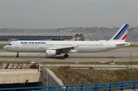F-GTAI @ LEMD - Air France A321 - by FerryPNL