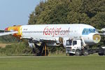 5H-FJD @ EGBP - With Air Salvage International for parting out at Cotswold Airport  Kemble , UK
