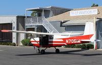N7051M @ SZP - 1958 Cessna 175 SKYLARK, Continental GO-300-A 175 Hp - by Doug Robertson