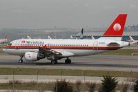 EI-DEY @ LEMD - Meridiana A319 departing - by FerryPNL