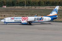 D-ASXB @ EDDK - D-ASXB - Boeing 737-8Z9(WL) - SunExpress Germany - by Michael Schlesinger