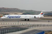 EC-GOU @ LEMD - Spanair MD83 still flying in Iran with ATA Airlines. - by FerryPNL