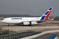 CU-T1250 @ LEMD - Cubana IL96 taxying for departure. - by FerryPNL