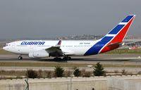 CU-T1250 @ LEMD - Departure of Cubana IL96 - by FerryPNL