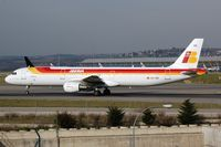 EC-IXD @ LEMD - Iberia A321 - by FerryPNL