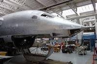 XH648 @ EGSU - Under restoration at Duxford. - by Graham Reeve