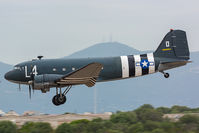 N147DC @ LIEO - Catch 22 photos from the film set - by Gian Luca Onnis SARDEGNA SPOTTERS