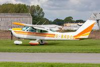 G-BRDO @ EGBR - Cessna 177B G-BRDO Cardinal Aviation, Breighton 23/9/18 - by Grahame Wills
