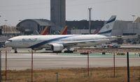 4X-ECC @ LAX - El Al 777-200
