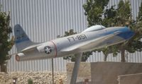 49-851 @ PMD - F-80C made to look like an XP-80 using some parts from a T-33 at Lockheed Palmdale Plant