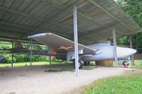 J-1178 - De Havilland (FFA) Vampire FB.6 (DH-100), Savigny-Les Beaune Museum - by Yves-Q