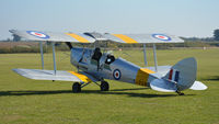 G-ANNK @ EGTH - 1. T-7290 at The Shuttleworth Collection, Oct. 2018.