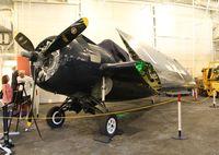 55052 - F4F-8 Wildcat at USS Hornet Museum
