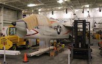 143703 - F-8A at USS Hornet