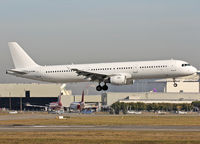 G-POWN @ LFBO - Landing rwy 14R in all white c/s... - by Shunn311