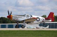 N61429 @ KOSH - North American P-51C
