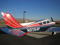 N9284P @ 1U7 - Comanche 260B with fresh paint - by Malcolm Dickinson