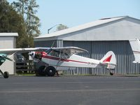 ZK-BKD @ NZAR - on apron at ardmore - by magnaman