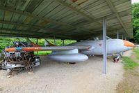 185 - De Havilland DH-115 Vampire T.55, Savigny-Les Beaune Museum - by Yves-Q
