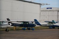 G-GFID @ EGBE - Seen parked at Coventry - by AirbusA320