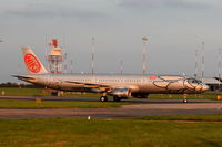 OE-LES @ EGSH - Just landed at Norwich in the late afternoon. - by Graham Reeve