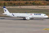 EP-IFA @ EDDK - EP-IFA - Airbus A321-211(WL) - Iran Air - by Michael Schlesinger