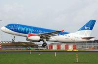 G-DBCH @ EHAM - British Midland A319 taking-off. - by FerryPNL