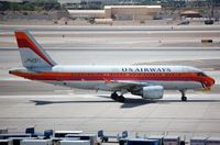 N742PS @ KPHX - US Air A319 in PSA livery. - by FerryPNL