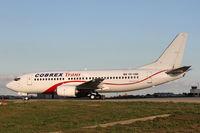 YR-CBK @ LMML - B737-300 YR-CBK Cobrex Trans Air
