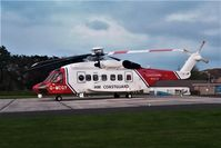 G-MCGY - RESCUE924 on the pad at Royal Cornwall Hospital (Treliske) - by Rich Hobden