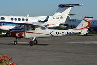 G-CISO @ EGTF - Cessna 150G at Fairoaks. Ex HS-SJT