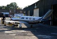 N5347V @ EGTF - Piper PA-46-500TP at Fairoaks.
