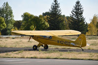 N42455 @ RXE - Piper J3C at Rexburg-Madison airport ID - by Jack Poelstra
