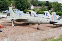 63-8357 - Republic F-105F Thunderchief, Savigny-Les Beaune Museum - by Yves-Q