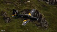 ZF171 - Taken on CAD West at the Mach Loop - by Morrison Gooch