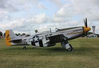 N251CS @ KOSH - North American P-51D