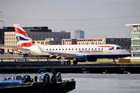 G-LCYG @ EGLC - About to depart from London City Airport. - by Graham Reeve