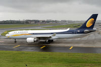 VT-JWW @ VABB - Oldest active A330 in the Jet Airways fleet taxiing out for departure to Delhi as 9W346 on an overcast morning.