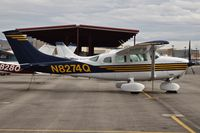 N8274Q @ KBOI - Parked on the north GA ramp. - by Gerald Howard