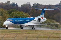 G-RJXA @ EDDR - Embraer EMB-145EP (ERJ-145EP) - by Jerzy Maciaszek